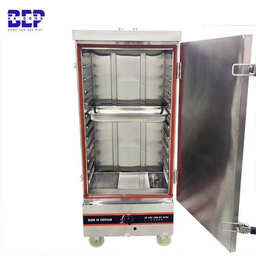 Tủ nấu cơm công nghiệp bằng gas 12 khay 40kg 50kg 60kg
