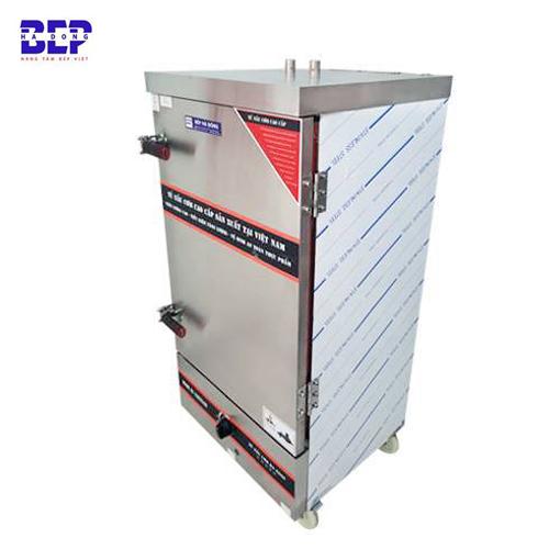 Tủ nấu cơm công nghiệp 24 khay bằng gas