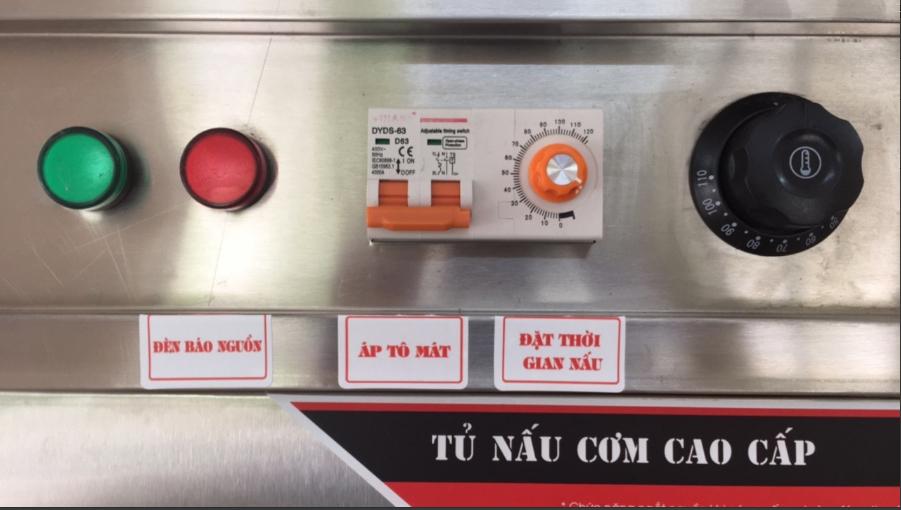 Bảng điều khiển tủ cơm công nghiệp