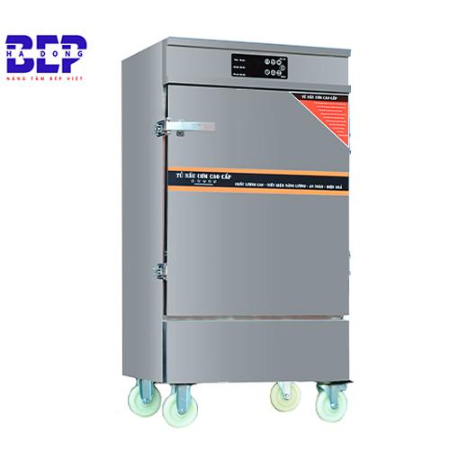 Tủ nấu cơm inox 50kg bằng điện có điều khiển tiết kiệm điện, giá cạnh tranh