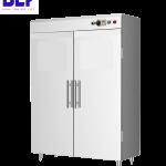 Thiết kế tủ sấy bát công nghiệp dùng thanh đốt trong căn bếp chật trội