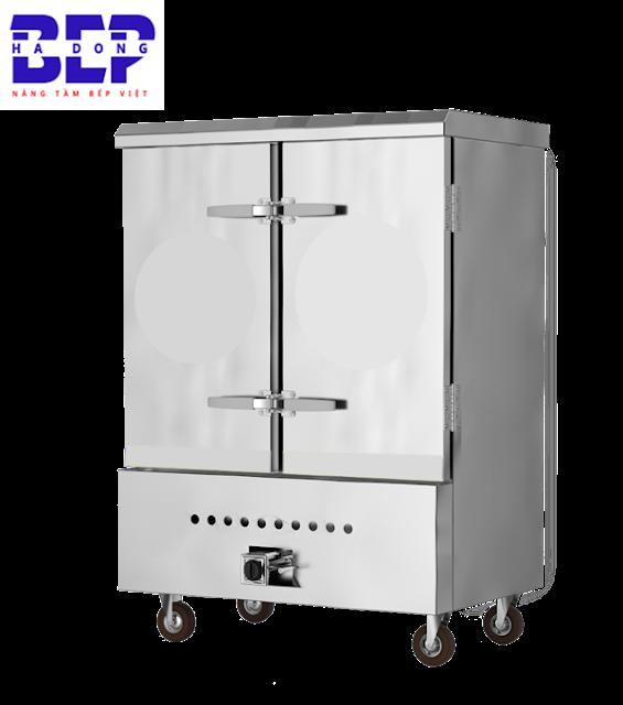 Tủ nấu cơm 80kg bằng gas rất được ưa chuộng hiện nay.