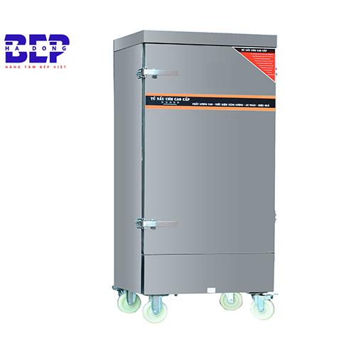 Nguồn điện ổn định nên dùng tủ cơm bằng điện hoặc là bằng gas và điện.