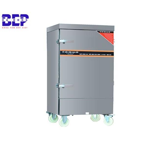 Tủ nấu cơm bằng gas dùng cho điều kiện căn bếp có nguồn điện không ổn định.